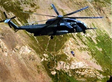 Rescue of climber on Crestone...