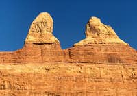 Rock Formation near Fortress Arch