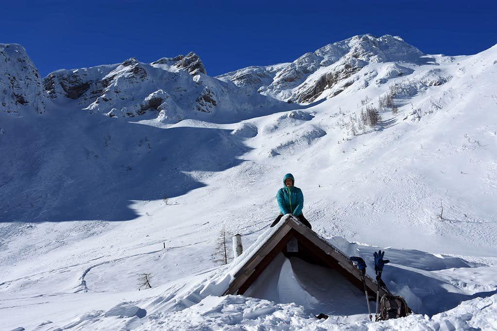 The slopes of Mojstrovka