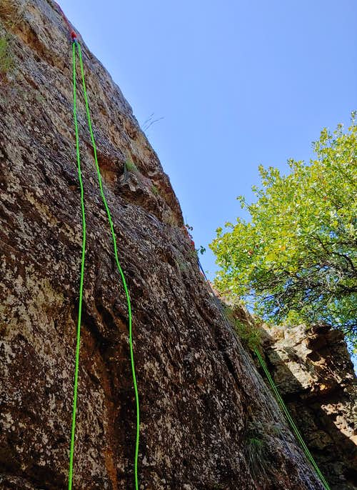 5.5-5.6 Routes in One of the Side Canyons