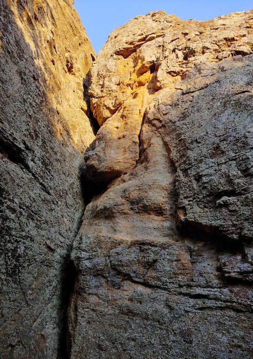 5.5-5.9 Routes Beneath Scenic Overlook