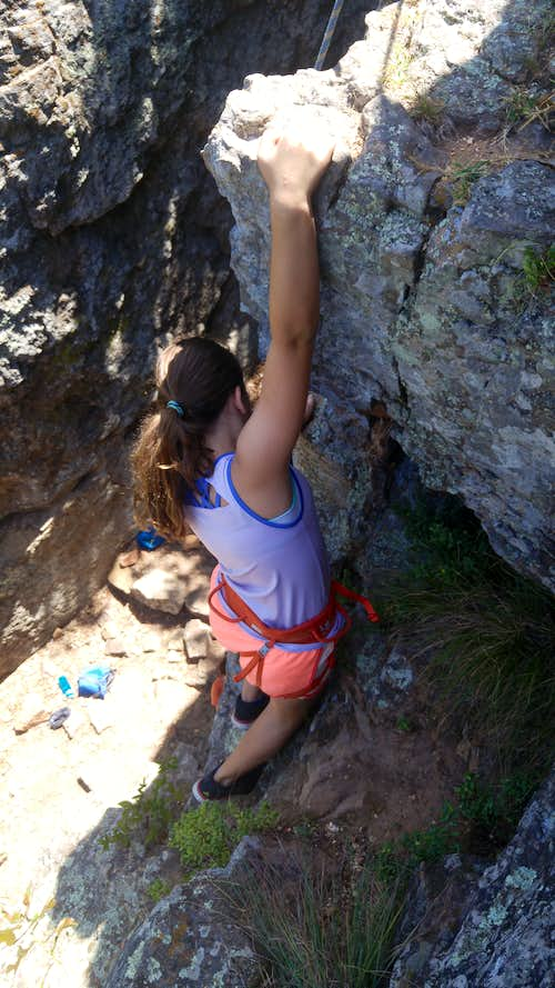 Caroline on Unnamed 5.7 on Middle Tower