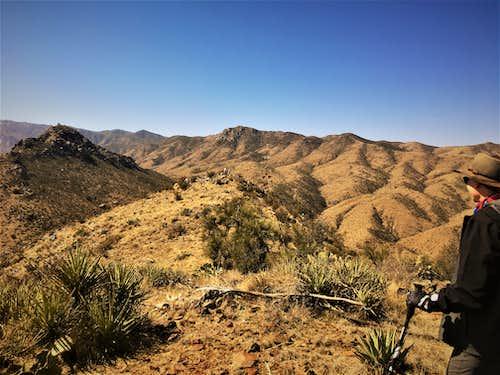 DeSoto Peak from Peak 4700