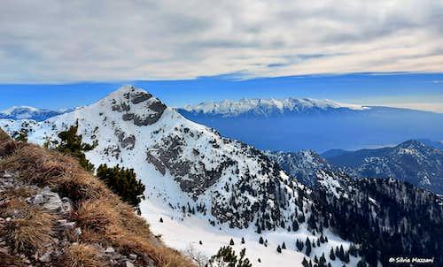 Corno della Marogna seen from Monte Tremalzo