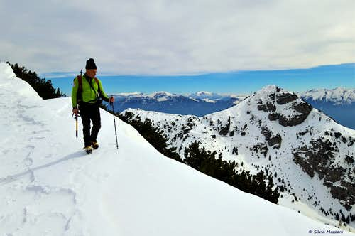Monte Tremalzo summit ridge