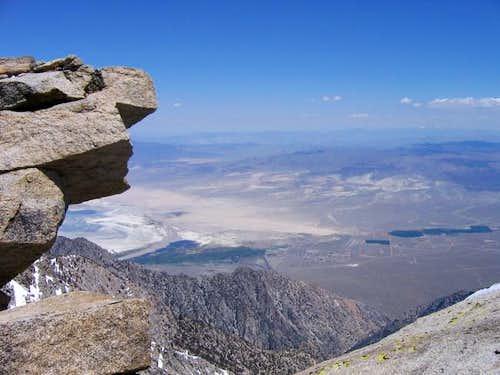 Olancha summit view - looking...