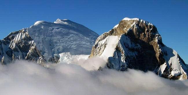 Huascaran from Pisco