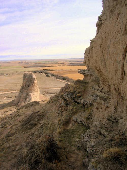 Summit Block View of Jail Rock