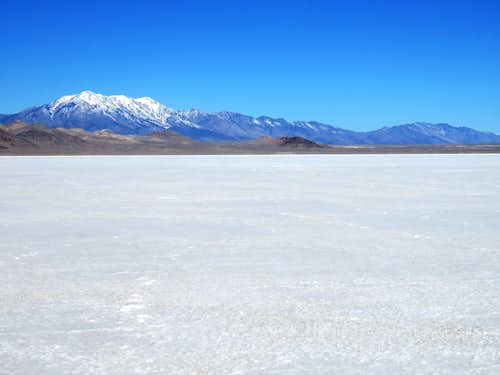 Bonneville Salt Flats Hiking