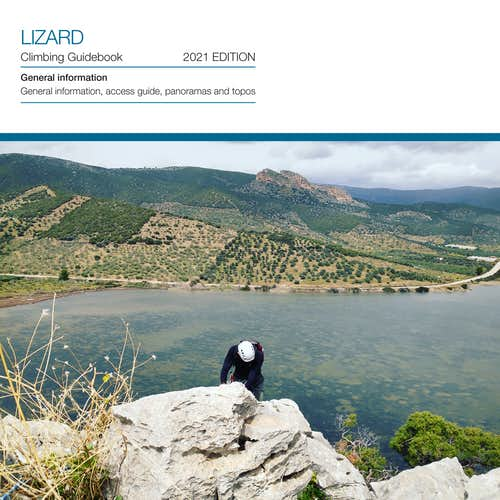 Lizard V UIAA 90 m.   Climbing on top of Thermisia Lagoon