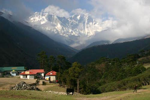 View on Lhotse, Nuptse and...