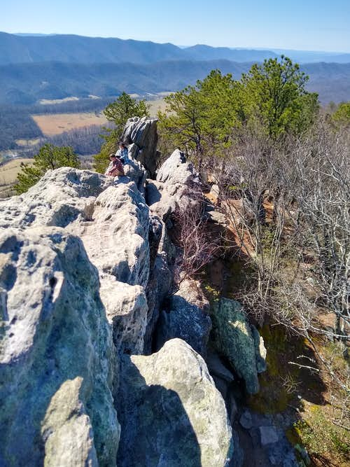 View from the Top of the Dragon's Tooth