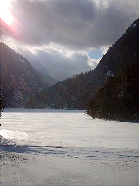 Ausable Lake January 2005...