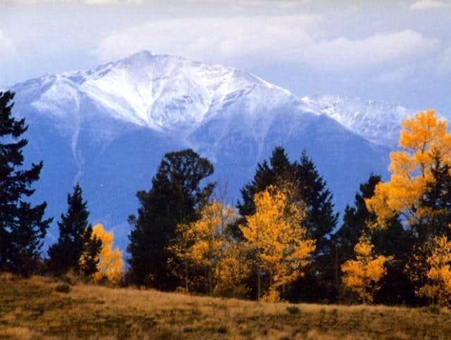 Mount Priceton from Aspen...