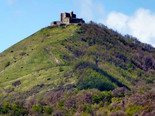 Diamante fortress seen from Cartagenova