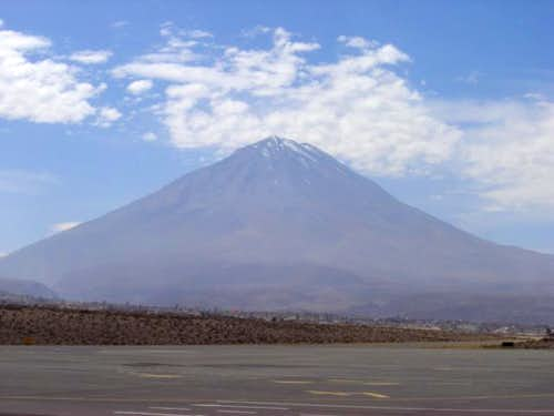 The great volcano Misty from...