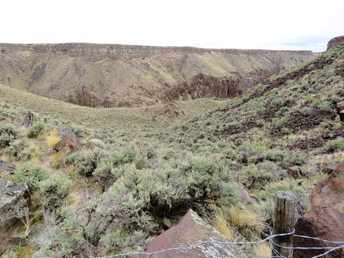 Edge of canyon