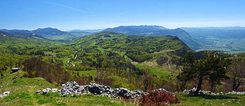 Sinji vrh SE views