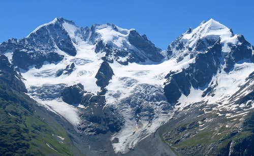 Bernina Massif from its best side