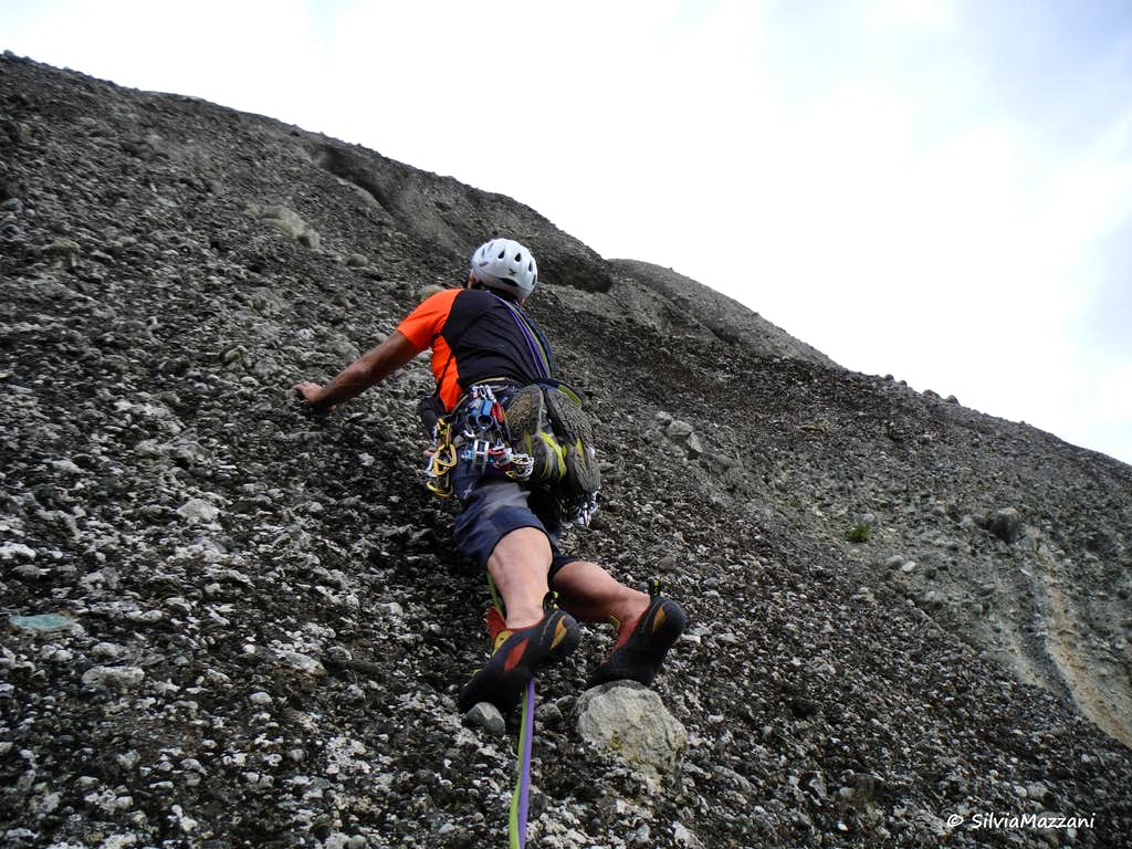 Ambaria, climb on Schnecklwand (Snail Wall) (2)