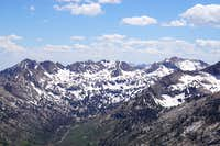 View of Lamoille Canyon as seen from Verdi Peaks area
