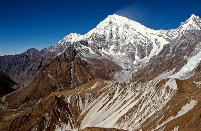 The east face of Langtang...