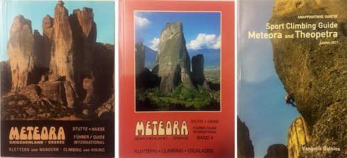 Meteora climbing guidebooks