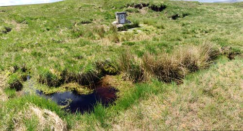 The Cranmere pool, Dartmoor, Devon.