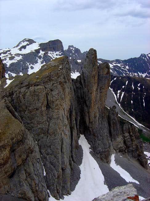 The peak La Mesa de los Tres...