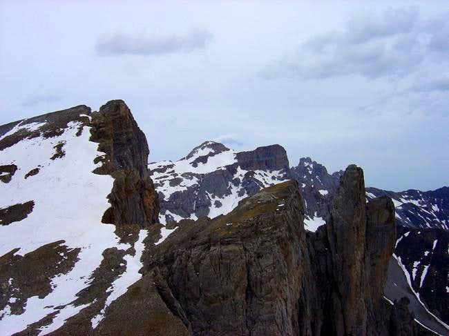 The peak Petrechema with the...