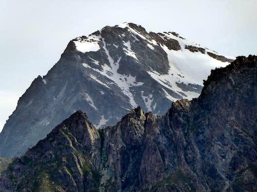 Summit of Mont Gelé from Plan Detruit