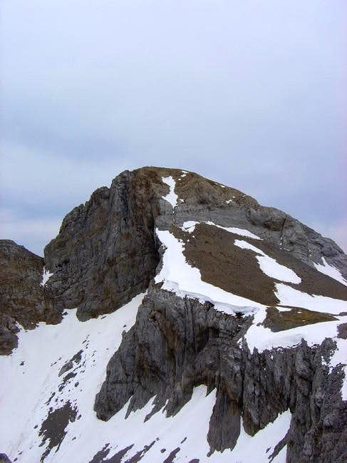 North face of Acherito from...