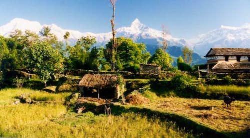 Naudanda village and the...
