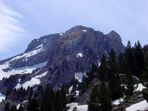 NW face of Acherito from the...