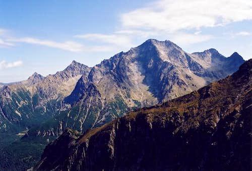 Ladovy Peak from eastern...