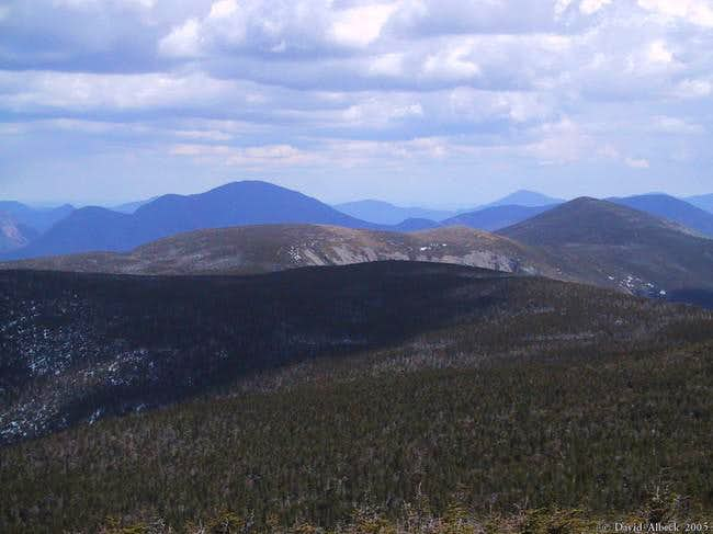 From South Twin, view along...