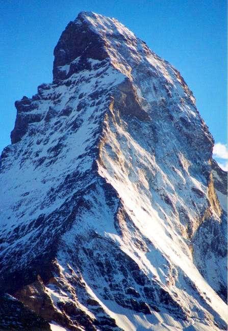 Matterhorn northeast ridge...