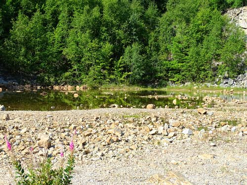 A Pond in the Old Quarry on Rib Mountain