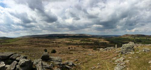 EasternTors of Dartmoor.