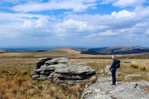 Higher Hartor Tor, Dartmoor.
