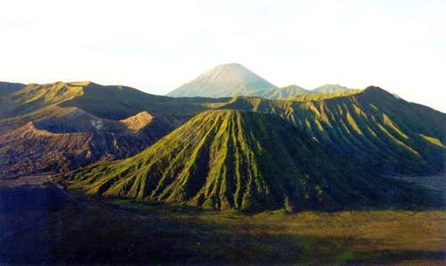 Mt.Bromo and Mt.Semeru after...