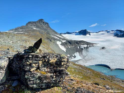 Store Smørstabbtinden, Jotunheimen