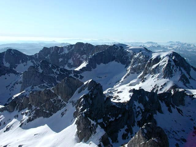Bobotov Kuk (2523 m) summit...