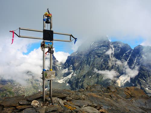 Summit of Punta Tre Chiosis