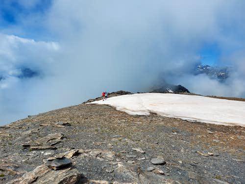 Punta Tre Chiosis, near the summit
