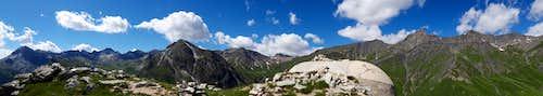 Rocca Senghi summit pano