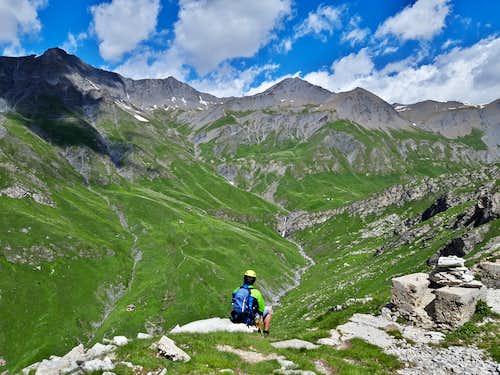 Summit of Rocca Senghi