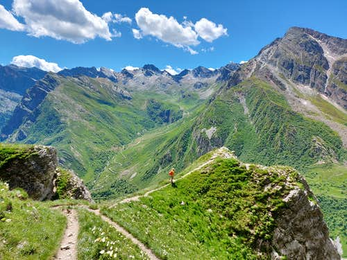 Rocca Senghi normal route