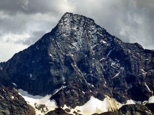Monte Emilius from Glassier in Valpelline