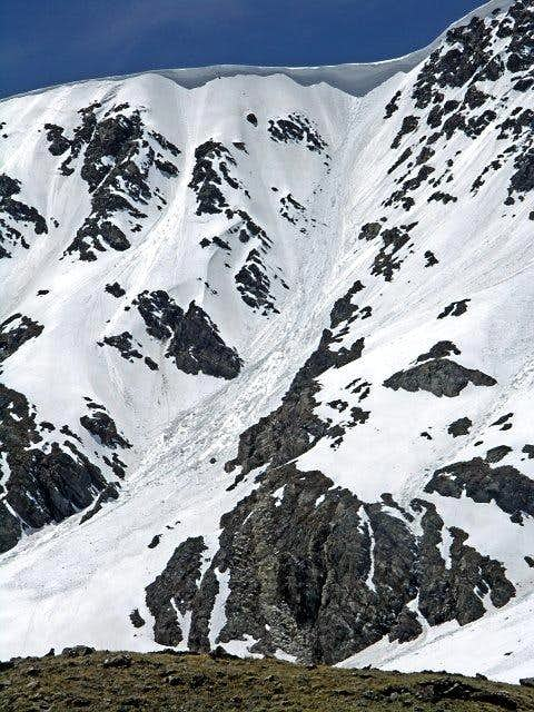 South Paw Couloir